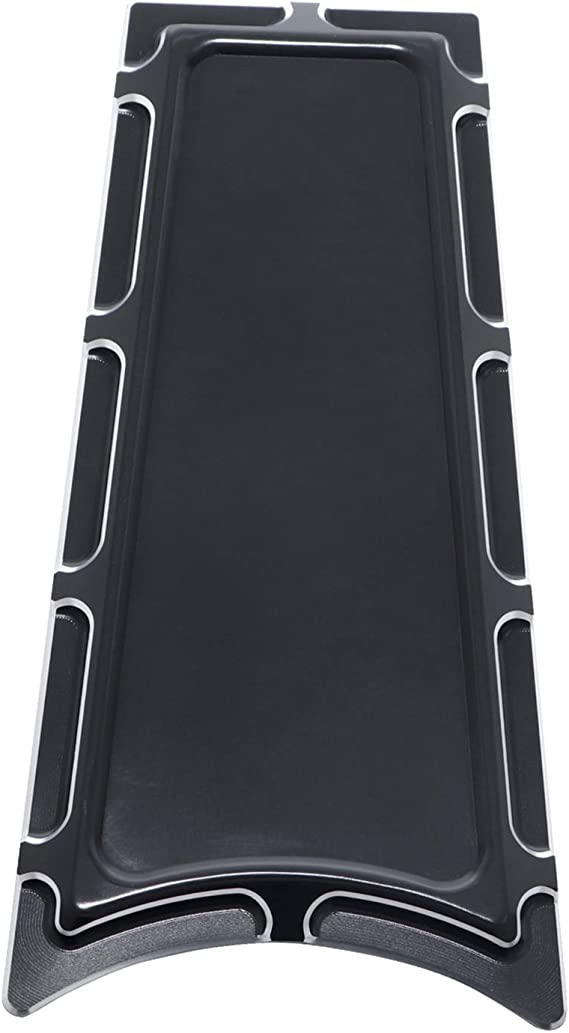 Details about  /CNC Cut Insert Fuel Tank Door Dash Cover for Harley 1992-2007 FLHT FLTR FLHX FLT
