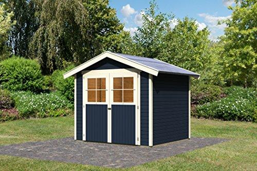Unbekannt Karibu Gartenhaus Harburg 4 opalgrau 19 mm