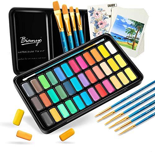acuarelas 16 colores fabricante Korins