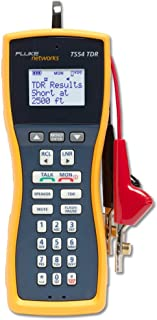 Fluke Networks TS54-A-09-TDR TS54 Pro LCD Butt-In TDR Telephone Test Set with ABN/PP