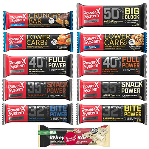 Power System Protein Riegel Box - Big Try Pack (11)
