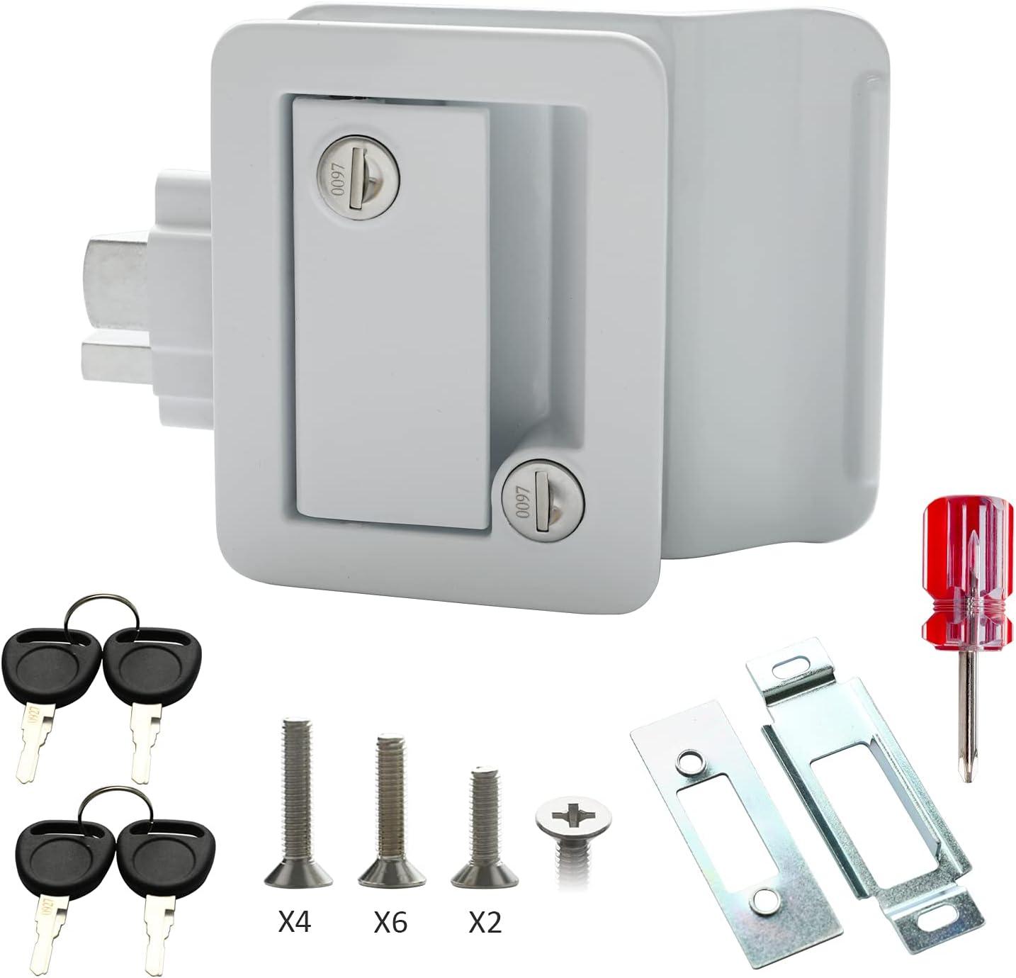OFFicial shop Rv Trailer Camper Entry Max 51% OFF Door Lock Handle Latch Rep