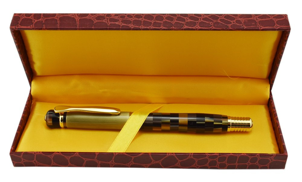 336 Kaigelu pluma estilográfica y caja de regalo Set, firma pluma fuente con cartucho de tinta