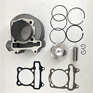 AH 52.4mm Big Bore Cylinder Kit With Piston Ring Pin For 4 Strokes GY6 125cc 152QMI Engine Chinese Scooter ATV Go Kart Taotao Baja Roketa