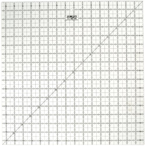 OLFA QR16S - Regla, transparente