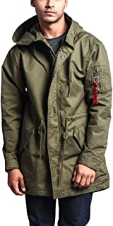 Men's MA-1 Bomber Style Anorak Jacket