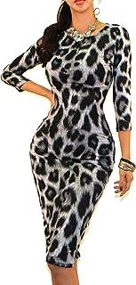 Vivicastle Women s USA Classic Slim Fit Bodycon Pencil Midi Dress 18f177e89