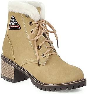 BalaMasa Womens ABS14046 Pu Boots