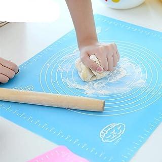 Tapis de cuisson de 50 cm avec écailles de farine - Tapis de pétrissage - Tapis de cuisson - Tapis de pâtisserie - Tapis d...
