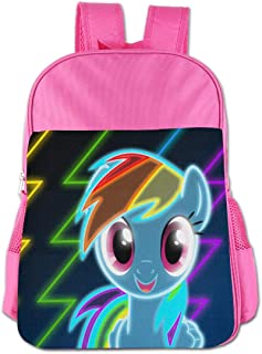 Fdggdg Little My Po_n-y 3D Graphic Shoulder Bag Backpack School Bookbags for Teens Boys Girls