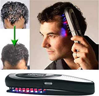 Hair Regrowth Comb,Hair Growth Kit,Anti Hair Loss Treatment Electric Hair Comb Massage Brush for Daily Home Use