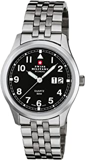 Montre analogique Swiss Military by Chrono 20009ST-11M (Ø) 39 mm acier inoxydable