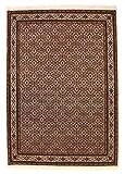 Nain Trading Indo Bidjar Royal 240x172 Orientteppich Teppich Rost/Lila Handgeknüpft Indien