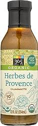 365 Everyday Value, Organic Herbes De Provence Vinaigrette, 12 Oz