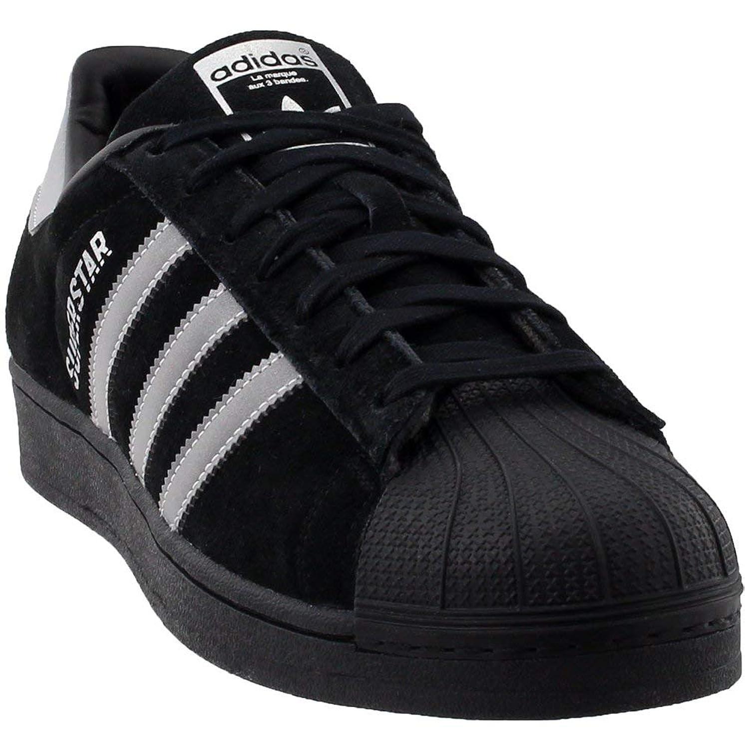 adidas Originals Men's Superstar Sneaker Running Shoe Core Black/Black/Core Black 10.5 D(M) US