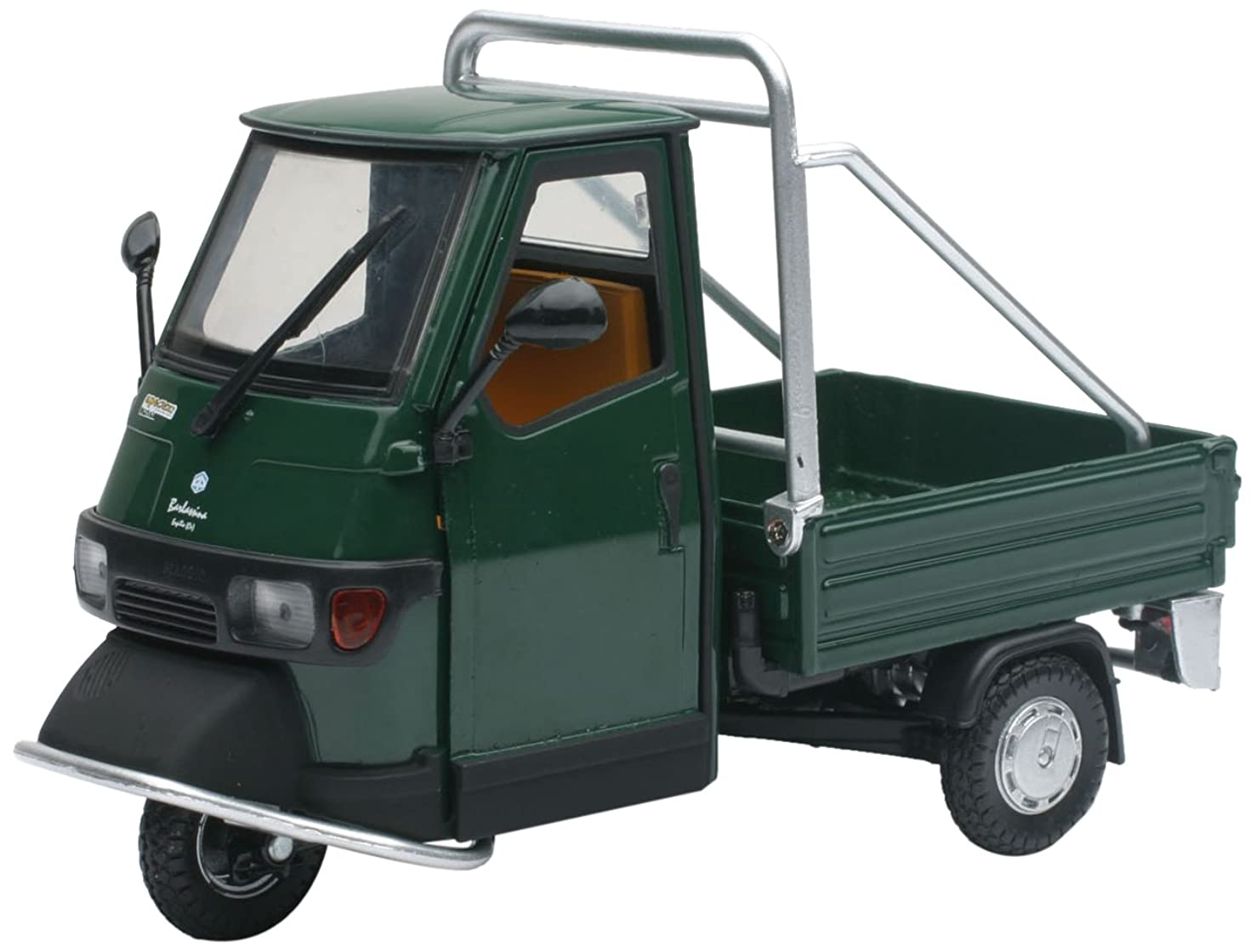 NEWRAY Ape Piaggio 68038?–?50?Cross Country Faithful Reproduction, Die Cast 1: 18?Scale, Green