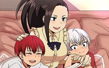 TianSW YAOYOROZU MOMO (22inch x 14inch/56cm x 35cm) My Hero Academia Season 3 Midoriya Izuku All Might Waterproof Poster No Fading