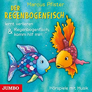 Der Regenbogenfisch lernt verlieren & Regenbogenfisch, komm hilf mir!                   Autor:                                                                                                                                 Marcus Pfister                               Sprecher:                                                                                                                                 Marion Elskis,                                                                                        Karl Menrad,                                                                                        Robert Missler,                   und andere                 Spieldauer: 29 Min.     5 Bewertungen     Gesamt 5,0