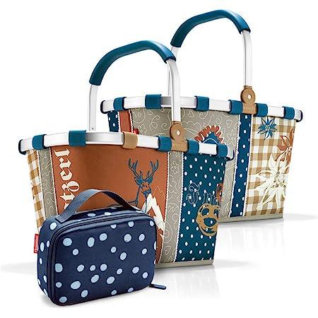 reisenthel, Set aus carrybag BK, thermocase OY, SBKOY, Einkaufskorb mit Kleiner Kühltasche, Special Edition Bavaria 4 + Spots Navy