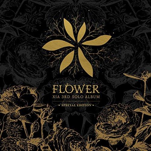 C-Jes Entertainment Xia Junsu (Jyj) - Flower [Special Edition] Cd+Dvd+48P Photobook+Extra Gift Photocard