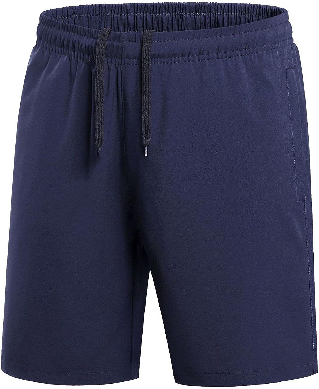 Segindy Men's Casual Shorts Summer Fashion Solid Color Comfortable Trend Elasticated
