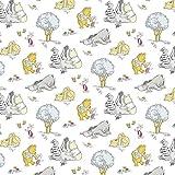 """""""Winnie the Pooh""""- Textil –0,5Meterware–von"""