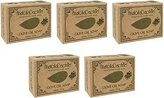 100% Natural Cold Pressed Olive Soap, Vegan, Moisturizing, Handmade, Body Soap, Face Soap,and Bath Soap, Detox Spa Soap Ba...