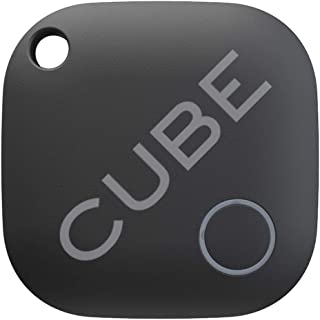 Cube Key Finder Smart Tracker Bluetooth Tracker for Dogs, Kids, Cats, Luggage, Wallet, with app for Phone, Replaceable Bat...