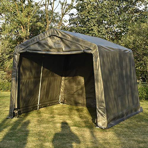 Bestmart INC Auto Shelter Canopy Carport Deep Gray,10x10x8ft