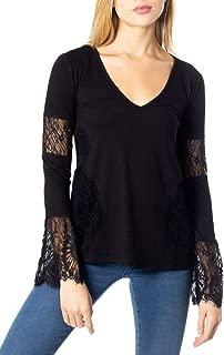 Luxury Fashion | Desigual Womens 19WWTFX0BLACK Black T-Shirt | Autumn-Winter 19