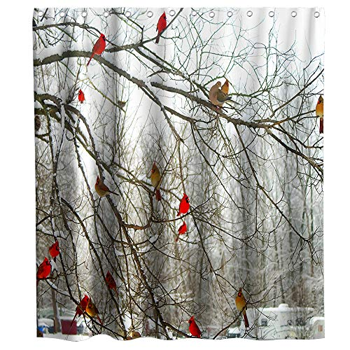 Forest Tree Shower Curtains