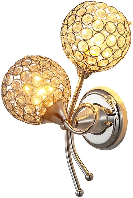Moderne Wandlampe Kristallwandlampe Kreative Wandlampe Weie Kunstwandlampe Für Hochzeitsraum Wohnzimmer Schlafzimmer Hotel, Φ27cm E27  2
