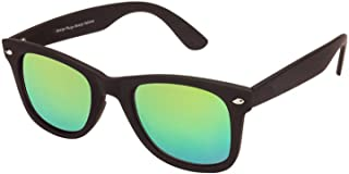 Singco Black & Green Color Wayfarer Sunglasses For Unisex