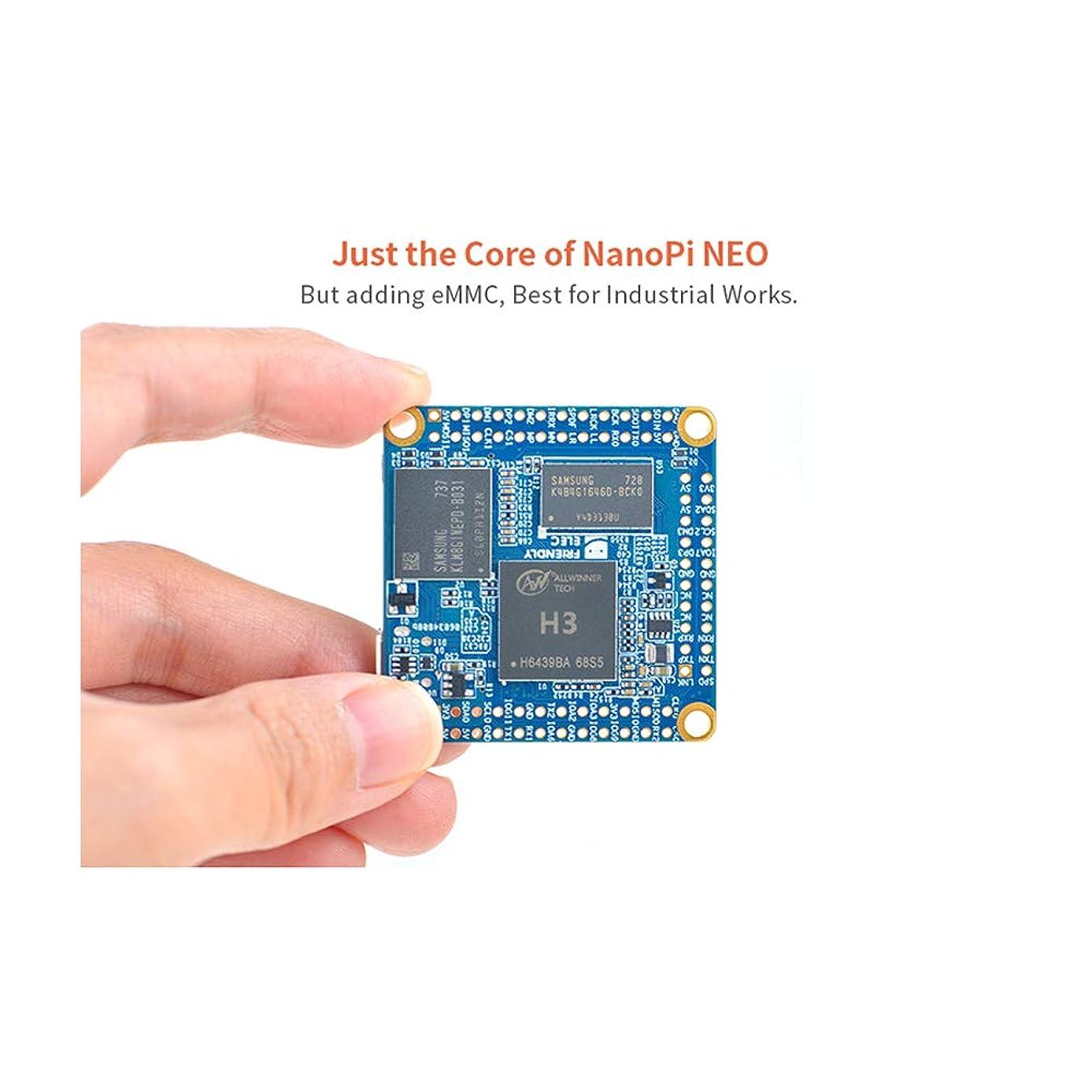 NanoPi NEO/ NEO2/ Core/Core2/ NEO Air/NEO Plus2 Aluminum Heat Sink with Thermal Paste