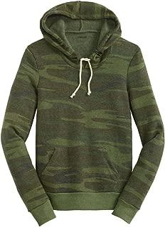 Ladies Athletic Eco-Fleece Pullover Hoodie - Hooded Sweatshirts XS-3XL