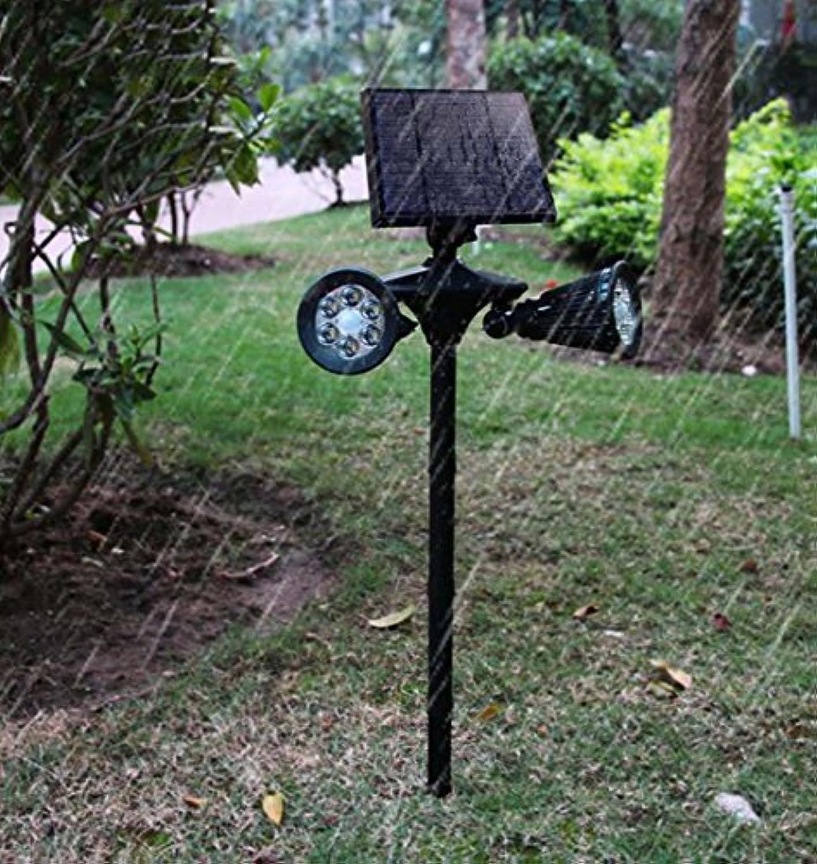 LED Solarleuchte, Doppelscheinwerfer Auenbeleuchtung Super Menschlicher Sensor Wandleuchte 3.5 (W) XIAOXAIO