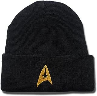 Star Trek Logo Beanie Fashion Unisex Embroidery Beanies Skullies Knitted Hats Skull Caps