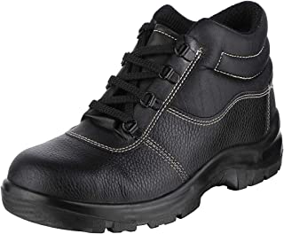 ACME Black Rapid Leather Safety Shoes (43)