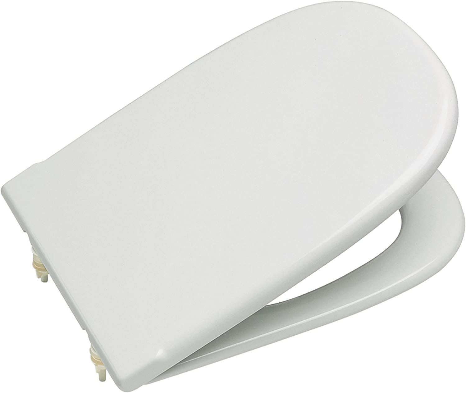 Roca Old Design Dama Replacement WC Toilet Seat with Standard Bar Hinge 801327004 White