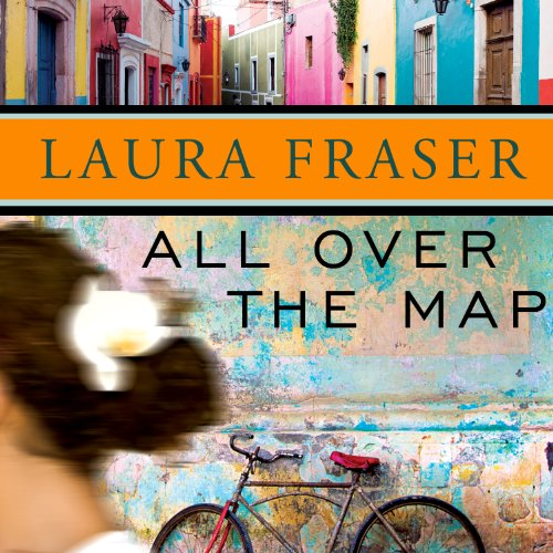 All Over the Map audiobook cover art