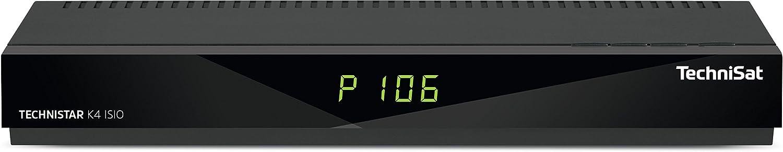 TechniSat Technistar K4 Isio - Receptor de Cable con sintonizador cuádruple (Imagen en Imagen, Imagen e imágenes, HbbTV, IPTV), Color Negro