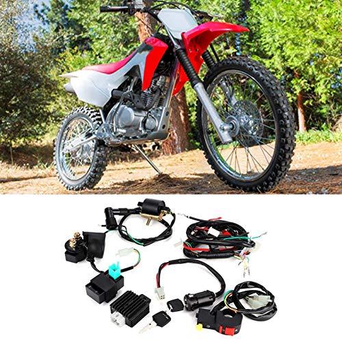 Arnés de cableado Rectificador de Bobina práctico Reemplazo de Piezas modificadas Universal para Accesorio de Bicicleta de Tierra 110Cc