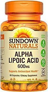 Sundown Naturals Super Alpha Lipoic Acid, 600mg, Capsules 60 ea