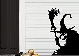 Wicked Witch #12 LRG~ Halloween WALL or Window Decal 20