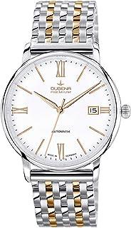 Dugena - Dugena Premium - Reloj de automático para Hombre, con Correa de Acero Inoxidable, Color Multicolor
