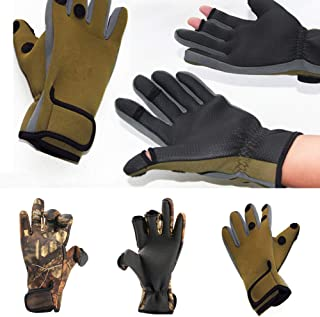 Infgreate Stylish Warm Outdoor Sports Gloves Fashion Men Camouflage Full Finger Warm for Cycling Shooting Hunting