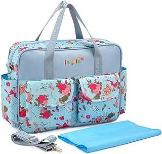 Insular Messenger Shoulder Multifunctional Large Mummy Bag Baby Mother Package