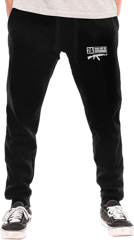 Bpauuiq Casual Men's Max 64% OFF Sweatpants with Fleece Bottom Sales results No. 1 Pockets Open