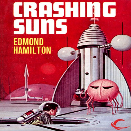 Crashing Suns audiobook cover art