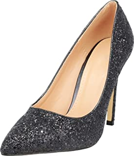 Best pointed toe glitter heels Reviews